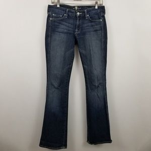 For All Mankind A Pocket Womens Boot Cut Jeans 28